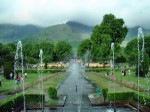 Mughal gardens in Kashmir
